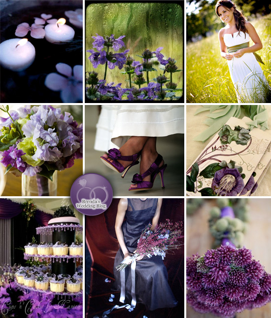 wedding ideas purple and green purple green black wedding run knit hitched 28294